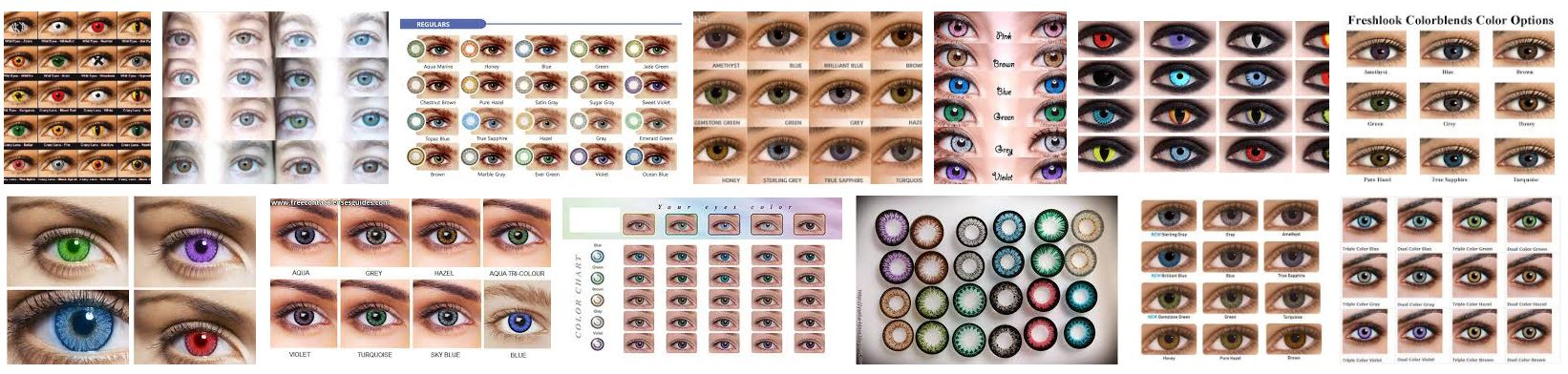 Colored Contact Lenses