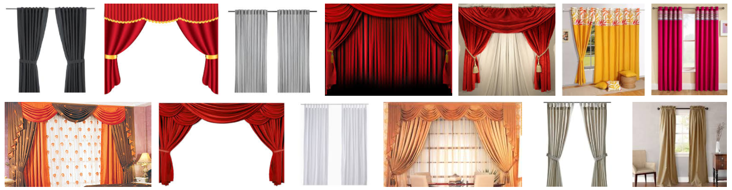 Curtains and Bamboo Flooring