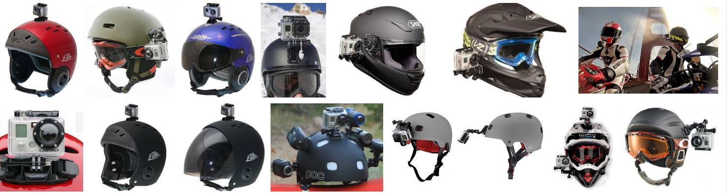 Launch Helmet Camera