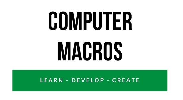 Computer Macro