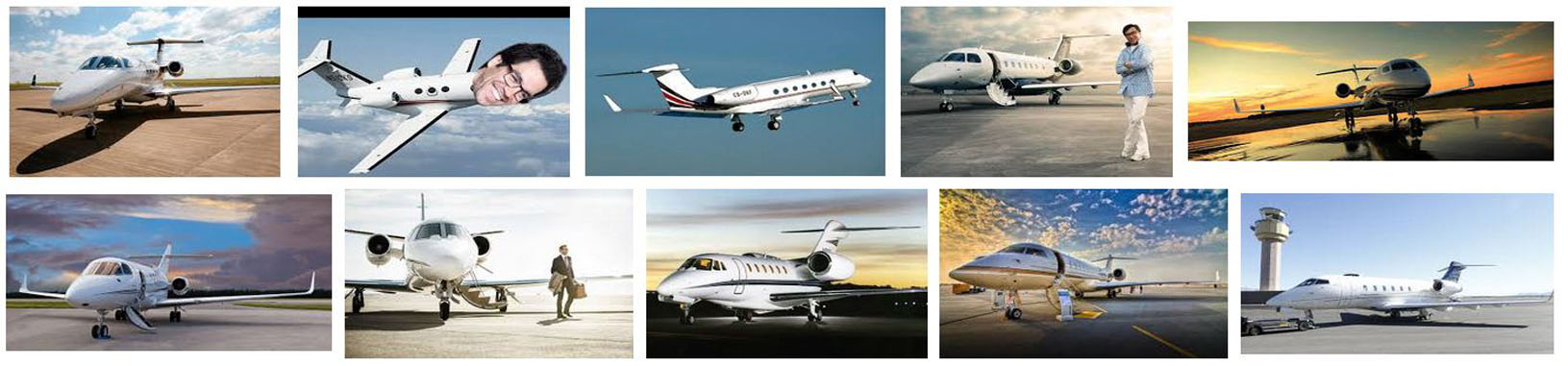 Private Jets for Charter